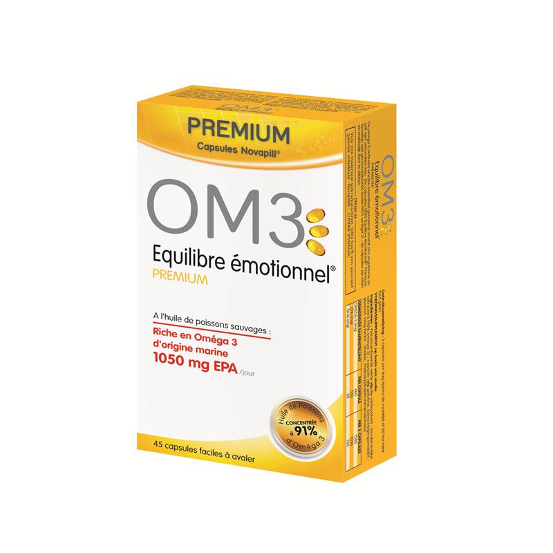 OM3 equilibre emotionnel premium (emotion) - 45 capsules - LABORATOIRES SUPERDIET