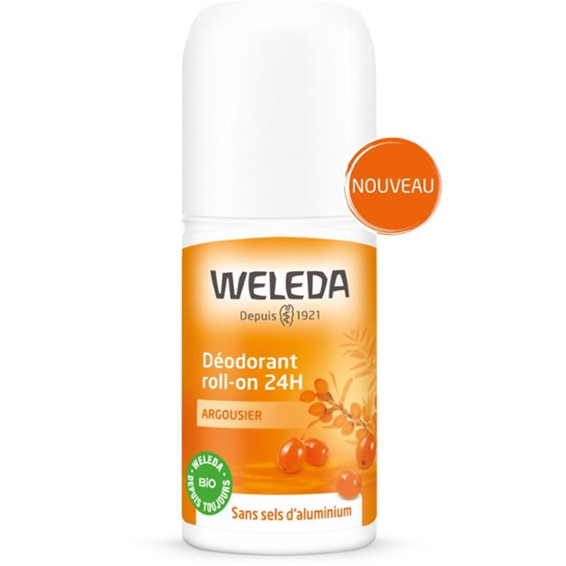 Déodorant Roll-on 24 H - Argousier - 50 ml - WELEDA