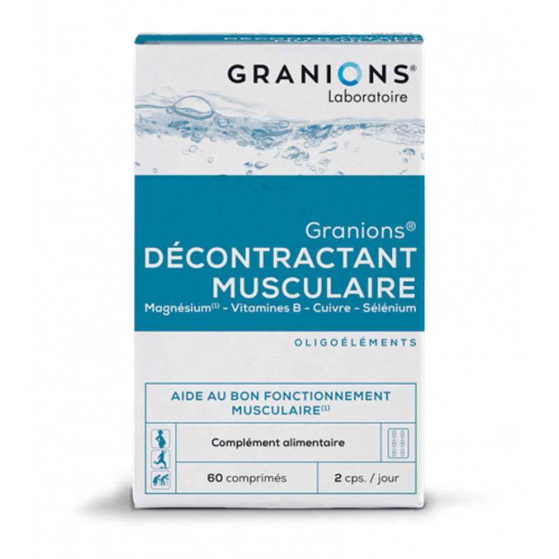 Granions decontractant musculaire - 60 Cp - LABORATOIRES DES GRANIONS