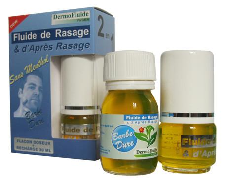 Sans menthol - barbe dure (20 + 30) - 50 ml - DERMOFLUIDE - DETERLUB