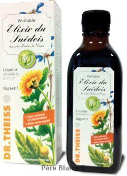 Elixir du suedois 17.5° - 200 ml - JARDIN D'HERBES DE MARIA - DR THEISS
