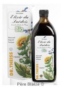 Elixir du suedois BIO 38° - 350 ml - JARDIN D'HERBES DE MARIA - DR THEISS