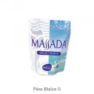 Sels - 3 sachets de 200 g - MASSADA