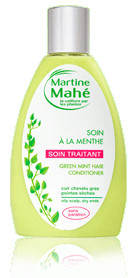 Soin des cheveux menthe - 200 ml - MARTINE MAHE