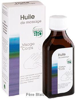 Huile de massage - 50 ml - DR VALNET