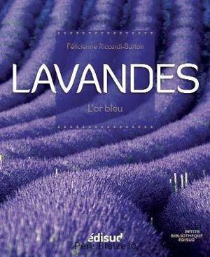 Lavandes l'or bleu - Livre - EQUINOXE EDITIONS