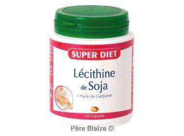 Lecithine de soja - 120 capsules - LABORATOIRES SUPERDIET