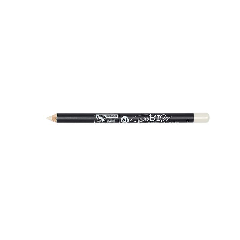 Crayon pour Les yeux  02 - kajal ivoire - 1,3 g - PUROBIO COSMETICS